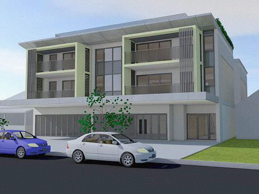 Four Storey Residential and Commercial Development