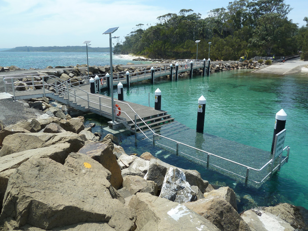 Jetty at Murrays Beach
