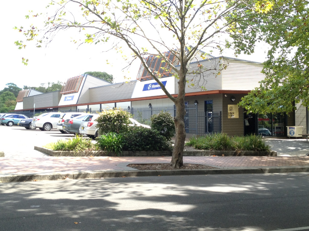 St Vincent De Paul's Building in Central Nowra